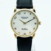 Rolex Cellini Or jaune 32mm Gris Romains France, Paris