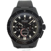 Zenith El Primero Stratos Flyback new 2012 Automatic Watch with original box and original papers 24.2062.405/27.C707