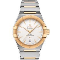 Omega 131.20.39.20.02.002 Gold/Steel 2021 Constellation 39mm new