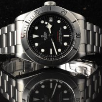 Tudor Black Bay Steel Steel 41mm Black No numerals