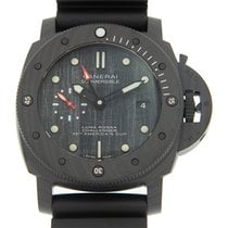 Panerai Carbon Automatic Black No numerals 47mm new
