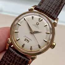 Omega Rose gold Automatic White 34mm pre-owned Seamaster