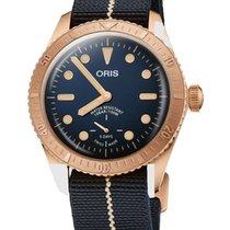 Oris Carl Brashear new Automatic Watch with original box 01 401 7764 3185-Set