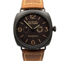 Panerai Special Editions Ceramic 47mm Brown Arabic numerals