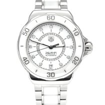 TAG Heuer Formula 1 Lady Steel 37mm White No numerals