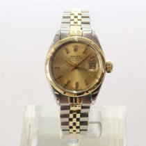 Rolex 6919 Gold/Steel Oyster Perpetual Lady Date 26mm pre-owned