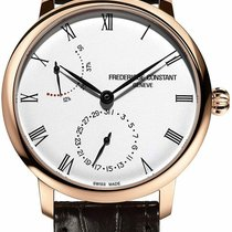 Frederique Constant Slimline Automatic Steel 40mm Silver Roman numerals United States of America, New Jersey, Somerset