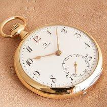 Omega Часы подержанные 1925 Желтое золото 48mm Aрабские Механические Только часы