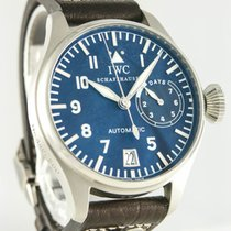 IWC Platinum Automatic Black Arabic numerals 46mm pre-owned Big Pilot
