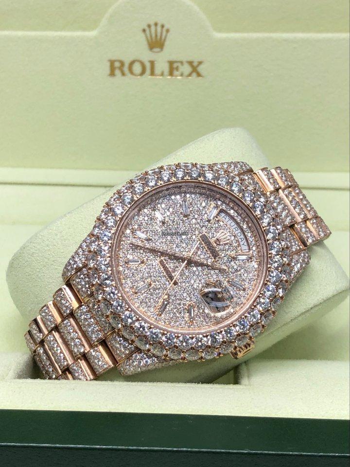 Rolex (ロレックス) デイデイト II 218235 2014 新品