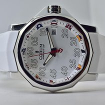Corum Admiral's Cup Competition 40 Stal 40mm Biały Arabskie