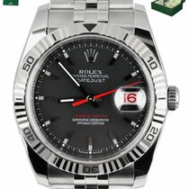 Rolex Datejust Turn-O-Graph Gold/Steel 36mm Black United States of America, New York, Smithtown
