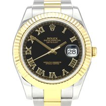 Rolex Datejust II Gold/Steel 41mm Black Roman numerals United Kingdom, Manchester