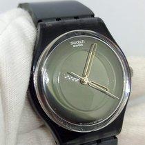 Swatch Ceramic Quartz Black No numerals 34mm pre-owned