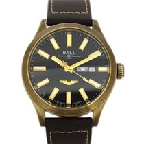 Ball Engineer III pre-owned 43mm Black Leather