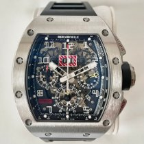 Richard Mille pre-owned Automatic 49,9mm Transparent Sapphire crystal 5 ATM