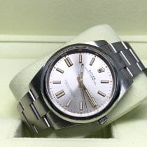 Rolex Oyster Perpetual Steel 41mm Silver No numerals United States of America, New York, New York