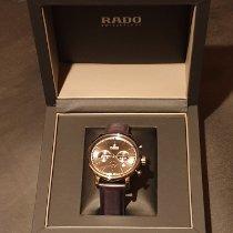 Rado nouveau Remontage automatique Seconde centrale Chronomètre Chronomètre Master 45mm Céramique Verre saphir