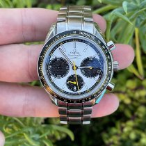 Omega Speedmaster Racing Steel 40mm White No numerals United States of America, California, Los Angeles