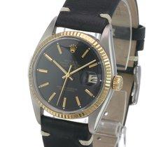 Rolex Datejust Gold/Steel 36mm Black No numerals United States of America, California, Sherman Oaks