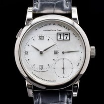 A. Lange & Söhne Lange 1 White gold Mother of pearl Roman numerals United States of America, Massachusetts, Boston