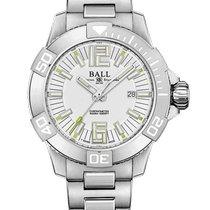 Ball Engineer Hydrocarbon Deepquest Titanium 42mm White Arabic numerals United States of America, New Jersey, River Edge