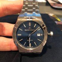 Maurice Lacroix AIKON Steel 42mm Blue No numerals