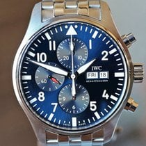 IWC Steel Pilot Chronograph 43mm pre-owned United States of America, Missouri, Chesterfield