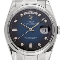 Rolex Steel Automatic 36mm pre-owned Day-Date 36