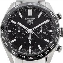 TAG Heuer Carrera neu 2021 Automatik Chronograph Uhr mit Original-Box und Original-Papieren CBN2A1B.BA0643