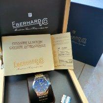 Eberhard & Co. Aiglon Steel 38mm Blue No numerals