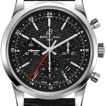 Breitling Transocean Chronograph GMT новые Автоподзавод Хронограф Часы с оригинальной коробкой AB045112-BC67-743P
