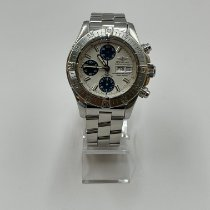 Breitling Superocean Chronograph II Steel 42mm White No numerals