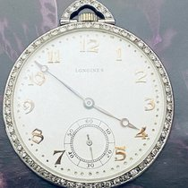 Longines Platinum Manual winding Silver Arabic numerals 42mm pre-owned