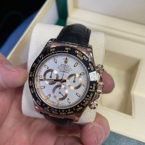 Rolex Daytona Rose gold 40mm White