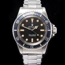 Rolex Submariner (No Date) 5513 Veldig bra Stål 40mm Automatisk