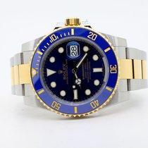 Rolex Submariner Date 116613LB Sehr gut Gold/Stahl 40mm Automatik