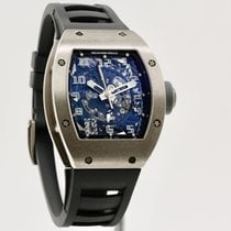 Richard Mille RM 010 Oro blanco 40mm Transparente Arábigos