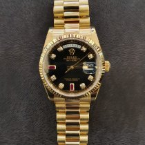 Rolex Day-Date 36 Oro amarillo 36mm Negro España, Barcelona