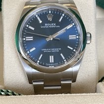 Rolex Oyster Perpetual 36 Steel 36mm Blue No numerals United Kingdom, Hayling Island