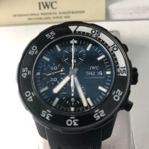 IWC Aquatimer Chronograph 44mm Schwarz Keine Ziffern