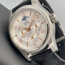 Oris Big Crown Complication Stahl 40mm Silber