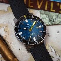 Zodiac Sea Wolf Steel 40mm Black United States of America, New Jersey, Jersey City