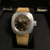 Panerai Special Editions Steel 45mm Brown Arabic numerals United States of America, Georgia, Alpharetta