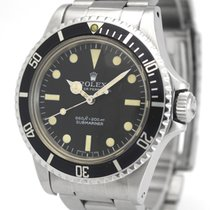 Rolex Submariner (No Date) 5513 Очень хорошее Сталь 40mm Автоподзавод
