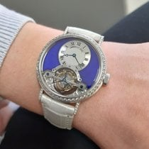 Breguet White gold Manual winding Blue 35mm pre-owned Classique Complications