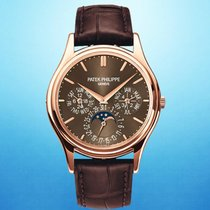 Patek Philippe Perpetual Calendar Rose gold 37.2mm Brown No numerals United States of America, New York, New York