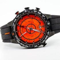 Timex Stahl 44mm Quarz WR100M gebraucht