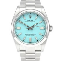 Rolex Oyster Perpetual 36 Steel 36mm Blue No numerals United Kingdom, Manchester