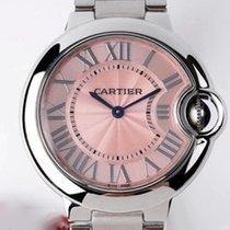 Cartier Ballon Bleu neu 2021 Quarz Uhr mit Original-Box und Original-Papieren WSBB0033